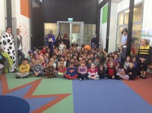 Waiouru School on Loud Shirt Day