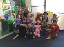 Kowhai mix and match dress ups.